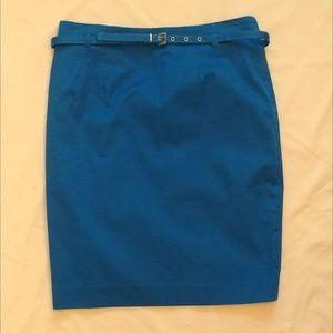 Amanda  & Chelsea blue pencil skirt Sz 4